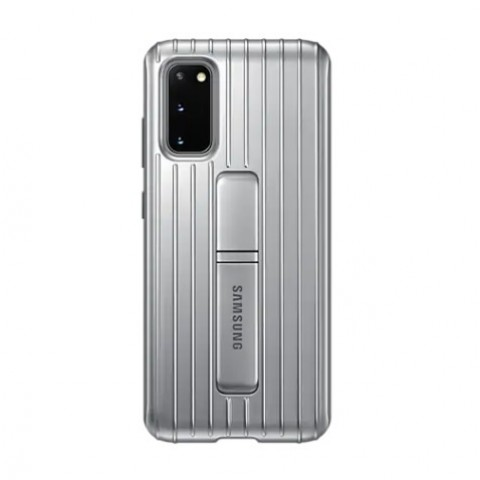 GALAXY S20 PROTECTIVE STANDING COVER PER CELLULARE EF-RG980CSEGEU REFURBISHED SILVER