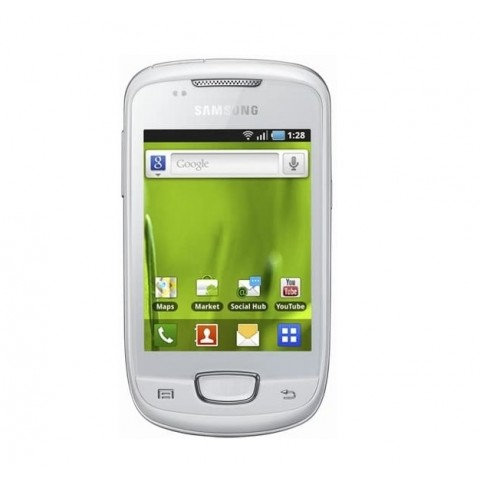 "SMARTPHONE SAMSUNG GALAXY MINI GT S5570 3.14"" 512 MB 3.1 MP 3G WIFI BLUETOOTH ANDROID REFURBISHED BIANCO"