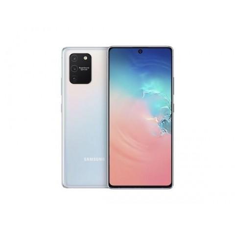 "SMARTPHONE SAMSUNG GALAXY S10 LITE SM G770F 128 GB DUAL SIM 6.7"" 4G LTE WIFI 48 + 12 + 5 MP OCTA CORE REFURBISHED PRISM WHITE"