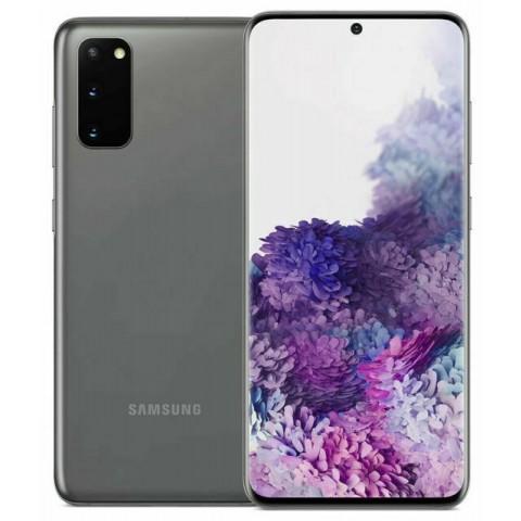"SMARTPHONE SAMSUNG GALAXY S20 SM G980F 128 GB DUAL SIM 6.2"" 4G LTE 12 + 64 + 12 MP OCTA CORE REFURBISHED COSMIC GRAY"