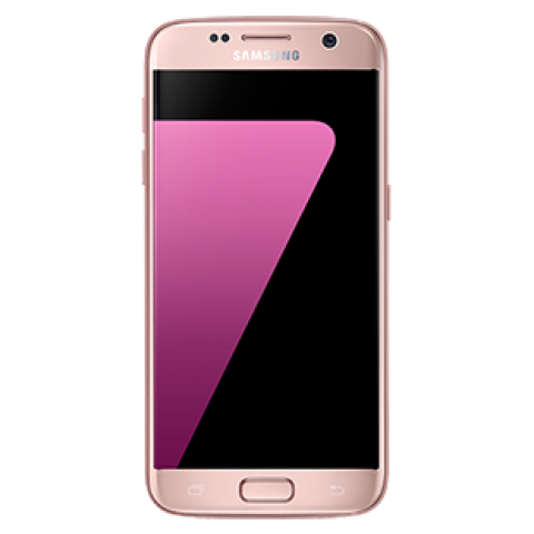 "SMARTPHONE SAMSUNG GALAXY S7 SM G930F 32GB OCTA CORE 5.1"" SUPER AMOLED DUAL PIXEL 12 MP 4G LTE REFURBISHED PINK GOLD"