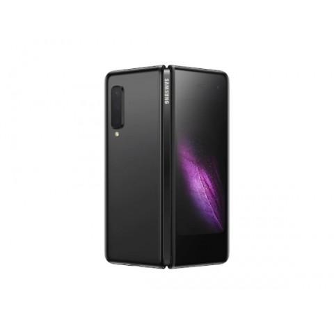"SMARTPHONE SAMSUNG GALAXY FOLD SM F900F 512 GB DUAL SIM 7.3"" + 4.6"" SUPER AMOLED WIFI OCTA CORE SEI FOTOCAMERE PROFESSIONALI REFURBISHED COSMOS BLACK / NERO"