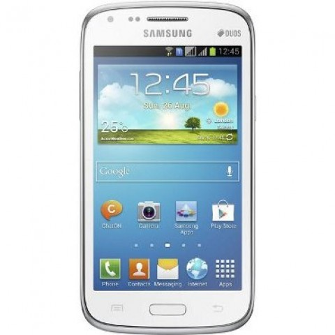 SMARTPHONE SAMSUNG GALAXY DUOS GT I8262 DUAL SIM 8 GB DUAL CORE 3G WIFI BLUETOOTH ANDROID REFURBISHED BIANCO