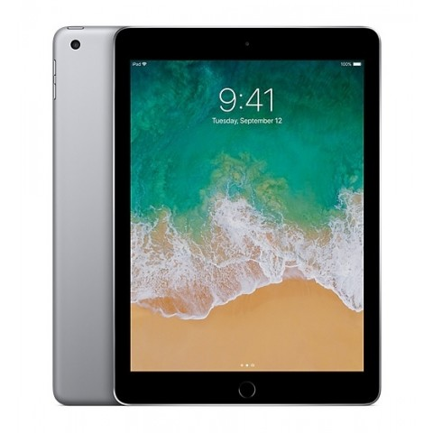 "IPAD 5 APPLE A1822 128 GB GB WIFI DISPLAY RETINA 9,7"" MULTI TOUCH CHIP A9 8 MP IOS 11 REFURBISHED GRIGIO SIDERALE"