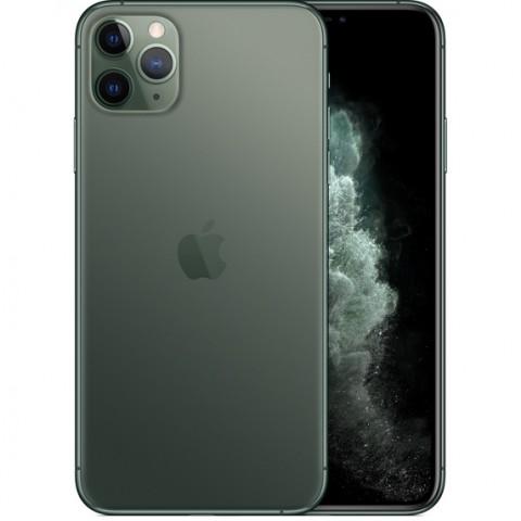 "SMARTPHONE APPLE IPHONE 11 PRO MAX 256 GB DUAL SIM 6.5"" 4G LTE A13 HEXA CORE IOS 13 TRIPLA FOTOCAMERA 12 MP REFURBISHED MIDNIGHT GREEN / VERDE"