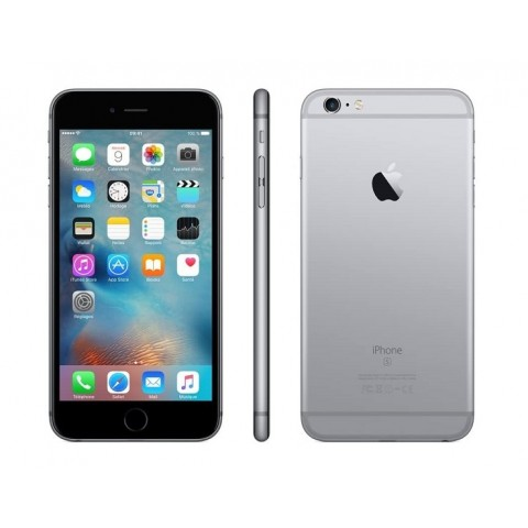 """SMARTPHONE APPLE IPHONE 6S PLUS 64 GB 5,5"""" 4G LTE CHIP A9 TOUCH ID IOS 9 12 MP REFURBISHED GRIGIO SIDERALE"""
