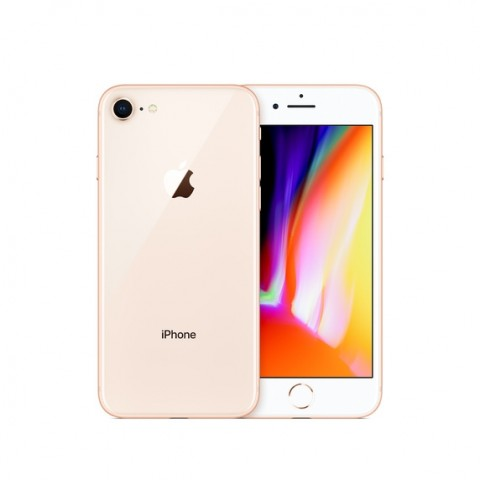 SMARTPHONE APPLE IPHONE 8 64 GB 4G LTE CHIP A11 BIONIC TOUCH ID IOS 11 12 MP REFURBISHED ORO