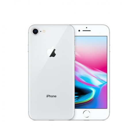 SMARTPHONE APPLE IPHONE 8 64 GB 4G LTE CHIP A11 BIONIC TOUCH ID IOS 11 12 MP REFURBISHED ARGENTO