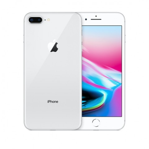 SMARTPHONE APPLE IPHONE 8 PLUS 64 GB 4G LTE CHIP A11 BIONIC TOUCH ID 12 MP REFURBISHED ARGENTO