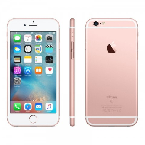 SMARTPHONE APPLE IPHONE 6S 64 GB 4G LTE CHIP A9 TOUCH ID IOS 9 12 MP FOCUS PIXEL REFURBISHED ROSE GOLD