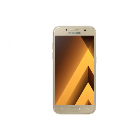 "SMARTPHONE SAMSUNG GALAXY A3 SM A320F (2017) 16 GB OCTA CORE 4.7"" SUPER AMOLED 4G LTE WIFI BLUETOOTH 13 MP REFURBISHED GOLD SAND"