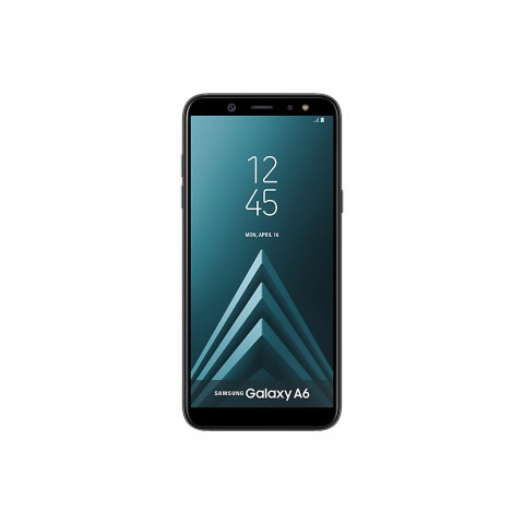 "SMARTPHONE SAMSUNG GALAXY A6 SM A600F DUAL SIM 32 GB OCTA CORE 5.6"" SUPER AMOLED 16 MP 4G LTE WIFI BLUETOOTH ANDROID REFURBISHED NERO"