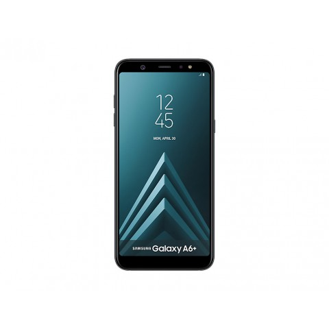 "SMARTPHONE SAMSUNG GALAXY A6 PLUS SM A605F 32 GB OCTA CORE 6"" SUPER AMOLED 16 + 5 MP 4G LTE WIFI BLUETOOTH ANDROID REFURBISHED NERO"