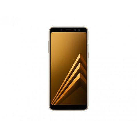 "SMARTPHONE SAMSUNG GALAXY A8 SM A530F DUAL SIM 32 GB OCTA CORE 5.6"" SUPER AMOLED 16 MP 4G LTE WIFI BLUETOOTH ANDROID REFURBISHED GOLD"