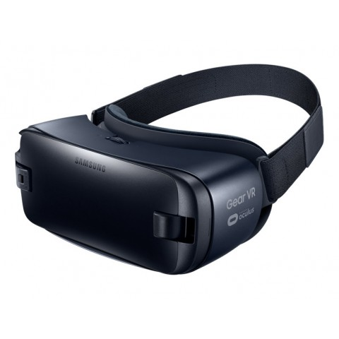 SAMSUNG GEAR VR (2016) SM R323 COMPATIBILE GALAXY S7, S7 EDGE, S6 EDGE PLUS, S6, S6 EDGE BLUE BLACK 24 MESI GARANZIA UFFICIALE