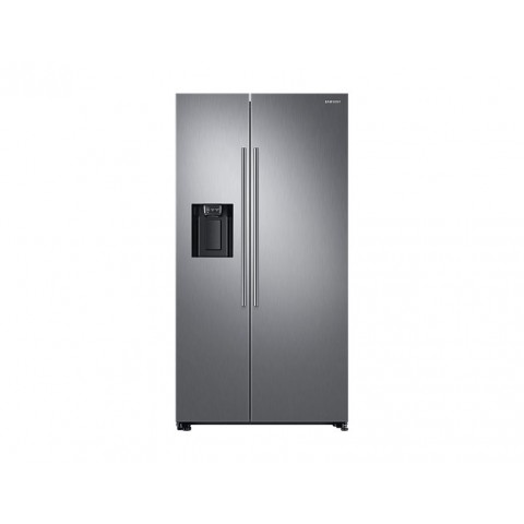 FRIGORIFERO SAMSUNG SIDE BY SIDE RS67N8210S9 INOX 609 L NO FROST PREMIUM DISPENSER ACQUA E GHIACCIO DISPLAY INTERNO REFURBISHED CLASSE A+