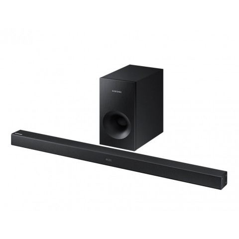 SOUNDBAR SAMSUNG HW K360 2.1 CANALI 120 W WIRELESS 5 MODALITÀ DI SUONO USB HOST BLUETOOTH REFURBISHED NERO