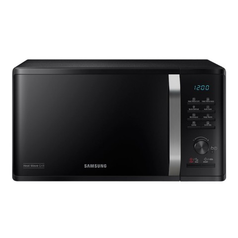 FORNO MICROONDE SAMSUNG MG23K3575CK GRILL 23 L 800 W 6 LIVELLI DI POTENZA ECO MODE DISPLAY LED LIBERA INSTALLAZIONE REFURBISHED NERO
