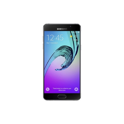 "SMARTPHONE SAMSUNG GALAXY A5 (2016) SM A510F 16 GB OCTA CORE 5.2"" SUPER AMOLED 13 MP 4G LTE ANDROID REFURBISHED NERO"