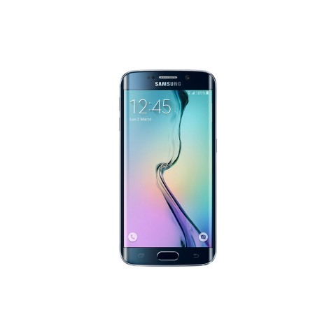 SMARTPHONE SAMSUNG GALAXY S6 EDGE SM G925F 32 GB OCTA CORE 4G LTE SUPER AMOLED QUAD HD REFURBISHED BLACK SAPPHIRE