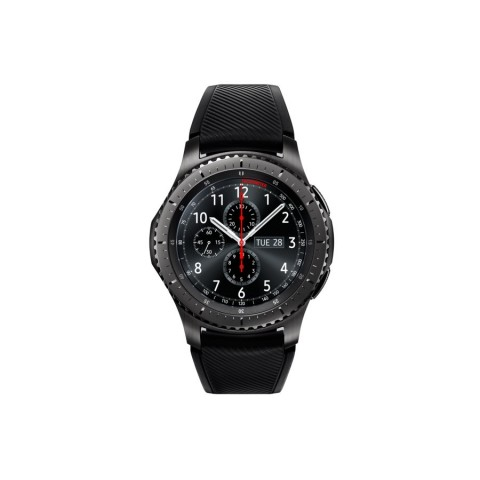"SMARTWATCH SAMSUNG GALAXY GEAR S3 FRONTIER SM R760 (TAGLIA L) 1.3"" SUPER AMOLED 4 GB DUAL CORE WIFI NFC BLUETOOTH REFURBISHED NERO"