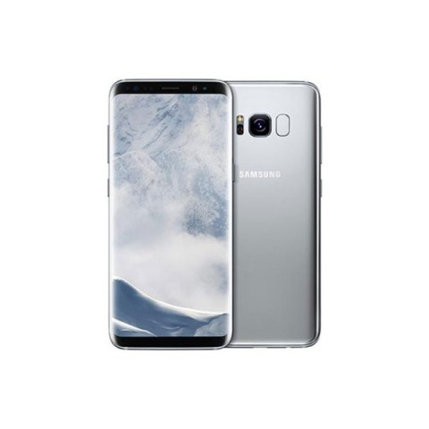 "SMARTPHONE SAMSUNG GALAXY S8 PLUS SM G955F 64 GB 4G LTE WIFI 12 MP DUAL PIXEL OCTA CORE 6.2"" QUAD HD+ SUPER AMOLED REFURBISHED ARTIC SILVER"