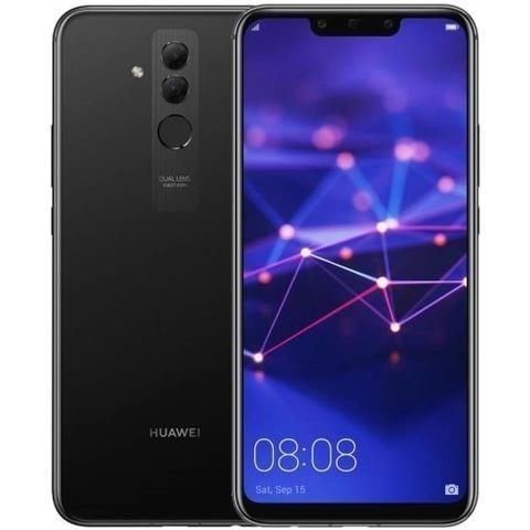 """SMARTPHONE HUAWEI MATE 20 LITE SNE LX1 64 GB DUAL SIM 6.3"""" 4G LTE OCTA CORE + i7 REFURBISHED NERO"""