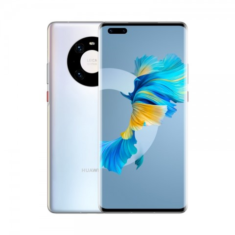 "SMARTPHONE HUAWEI MATE 40 PRO 5G NOH NX9 256 GB DUAL SIM 6.76"" OCTA CORE 50 MP REFURBISHED SILVER"