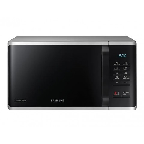 FORNO MICROONDE SAMSUNG MG23K3513AS GRILL 23 L 800 W 6 LIVELLI DI POTENZA DISPLAY LED LIBERA INSTALLAZIONE REFURBISHED ARGENTO
