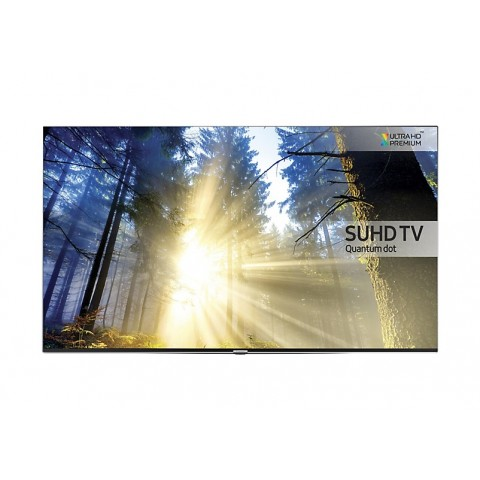 "TV 55"" SAMSUNG UE55KS8000 LED SERIE 8 SUHD 4K SMART WIFI 2300 PQI HDMI USB SILVER REFURBISHED SENZA BASE CON STAFFA A MURO"