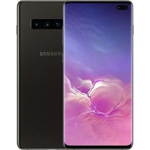 "SMARTPHONE SAMSUNG GALAXY S10 PLUS SM G975F 512 GB DUAL SIM 6.4"" 4G LTE WIFI 12 + 16 + 12 MP OCTA CORE REFURBISHED CERAMIC BLACK"