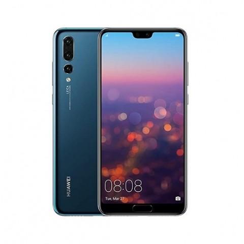 "SMARTPHONE HUAWEI P20 PRO CLT L09 128 GB 6.1"" 4G LTE TRIPLA FOTOCAMERA OCTA CORE REFURBISHED MIDNIGHT BLUE"