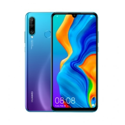"SMARTPHONE HUAWEI P30 LITE MAR LX1A 128 GB DUAL SIM 6.15"" 4G LTE TRIPLA FOTOCAMERA OCTA CORE REFURBISHED PEACOCK BLUE"