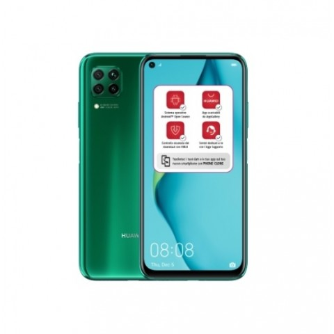 "SMARTPHONE HUAWEI P40 LITE JNY-LX1 DUAL SIM 128 GB 6.4"" 48 MP OCTA CORE REFURBISHED CRUSH GREEN"
