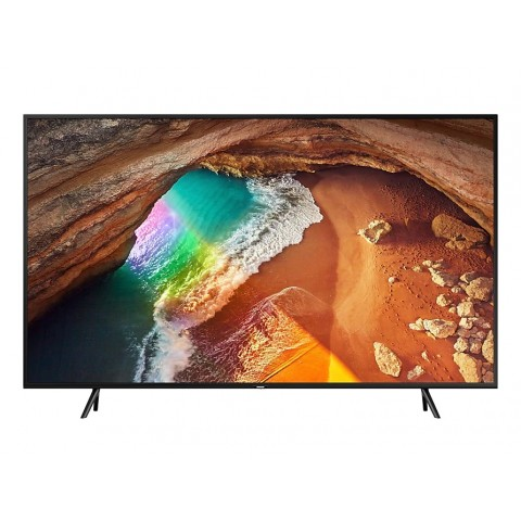 "TV 49"" SAMSUNG QE49Q60RAT QLED SERIE Q60R 2019 4K ULTRA HD SMART WIFI 2400 PQI USB HDMI REFURBISHED CHARCOAL BLACK"