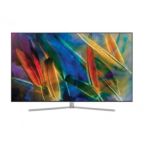 "TV 55"" SAMSUNG QE55Q7FAMT QLED SERIE 7 Q7F 4K UHD SMART WIFI 3100 PQI USB HDMI ARGENTO"