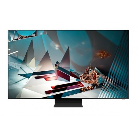 "TV 65"" SAMSUNG QE65Q800TAT QLED Q800T SERIE 8 2020 8K SMART WIFI 4500 PQI HDMI USB REFURBISHED TITAN BLACK"