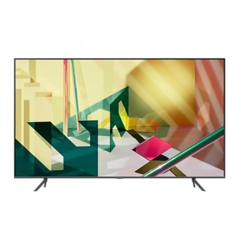 """TV 85"""" SAMSUNG QE85Q70TAT QLED Q70T 2020 4K UHD SMART WIFI 3400 PQI USB HDMI REFURBISHED TITAN GRAY"""