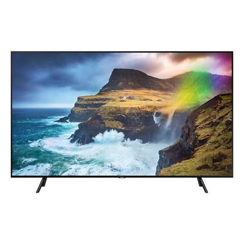 "TV 75"" SAMSUNG QE75Q70RAT QLED Q70R 2019 4K UHD SMART WIFI 3300 PQI USB REFURBISHED HDMI"