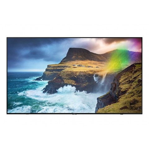 "TV 65"" SAMSUNG QE65Q70RAT QLED Q70R 2019 4K UHD SMART WIFI 3300 PQI USB HDMI REFURBISHED SENZA BASE CON STAFFA A MURO"