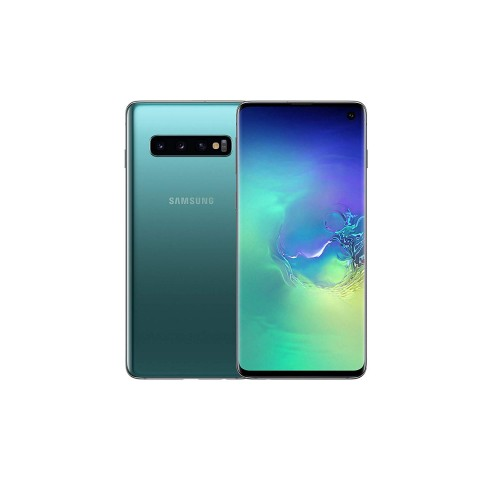 "SMARTPHONE SAMSUNG GALAXY S10 SM G973F 128 GB DUAL SIM 6.1"" 4G LTE WIFI 12 + 16 + 12 MP OCTA CORE REFURBISHED PRISM GREEN"