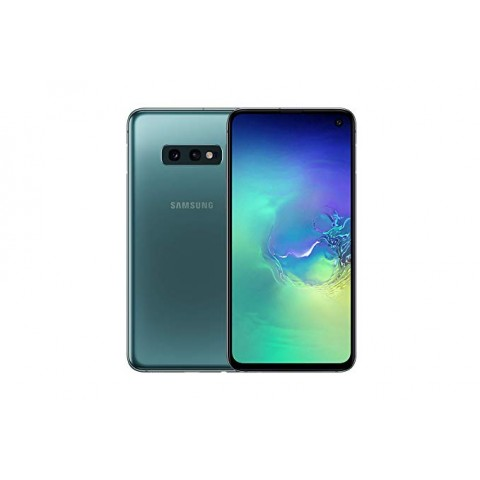 "SMARTPHONE SAMSUNG GALAXY S10e SM G970F 128 GB DUAL SIM 5.8"" 4G LTE WIFI 12 + 16 MP OCTA CORE REFURBISHED PRISM GREEN"