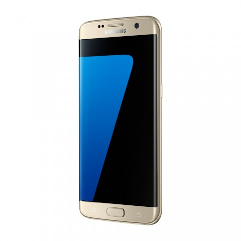 "SMARTPHONE SAMSUNG GALAXY S7 EDGE SM G935F 32GB OCTA CORE 5.5"" DUAL EDGE SUPER AMOLED DUAL PIXEL 12 MP 4G LTE REFURBISHED GOLD PLATINUM"