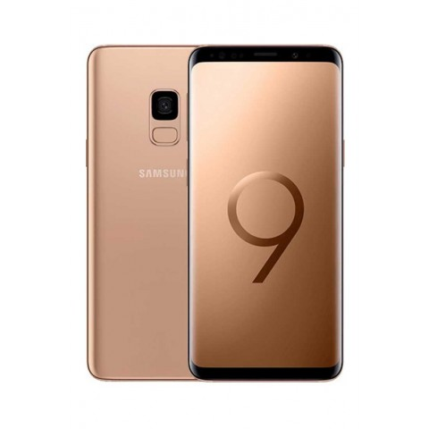 "SMARTPHONE SAMSUNG GALAXY S9 SM G960F 64 GB 4G LTE WIFI 12 MP OCTA CORE 5.8"" QUAD HD+ SUPER AMOLED REFURBISHED SUNRISE GOLD"