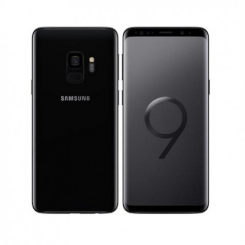 "SMARTPHONE SAMSUNG GALAXY S9 SM G960F 64 GB 4G LTE WIFI 12 MP OCTA CORE 5.8"" QUAD HD+ SUPER AMOLED REFURBISHED MIDNIGHT BLACK"