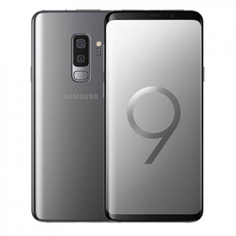 "SMARTPHONE SAMSUNG GALAXY S9 PLUS SM G965F DUAL SIM 256 GB 4G LTE WIFI DOPPIA FOTOCAMERA 12 MP + 12 MP OCTA CORE 6.2"" QUAD HD+ SUPER AMOLED REFURBISHED TITANIUM GREY"