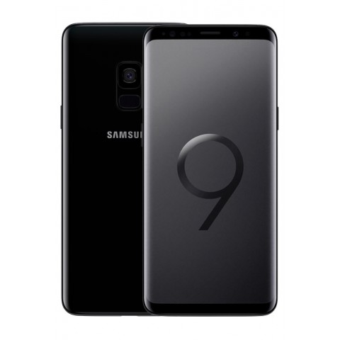 "SMARTPHONE SAMSUNG GALAXY S9 SM G960F DUAL SIM 64 GB 4G LTE WIFI 12 MP OCTA CORE 5.8"" QUAD HD+ SUPER AMOLED REFURBISHED MIDNIGHT BLACK"