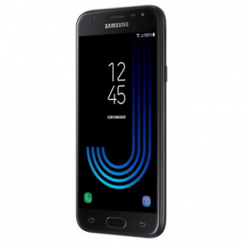 "SMARTPHONE SAMSUNG GALAXY J3 (2017) SM J330F 5"" SUPER AMOLED 16 GB QUAD CORE 4G LTE WIFI BLUETOOTH 13 MP ANDROID REFURBISHED NERO"