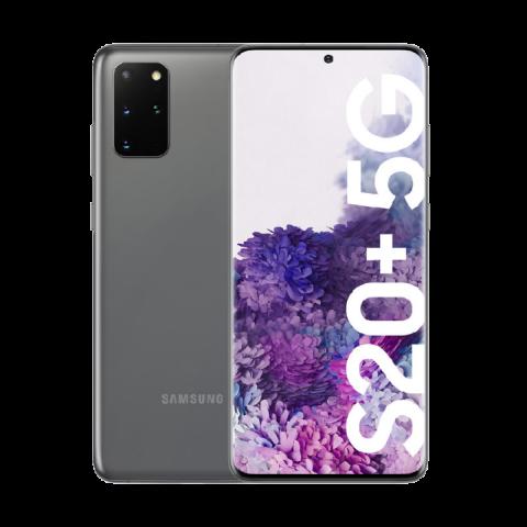 "SMARTPHONE SAMSUNG GALAXY S20 PLUS 5G SM G986B 128 GB DUAL SIM 6.7"" 12 + 16 + 64 MP + VGA OCTA CORE REFURBISHED COSMIC GRAY"