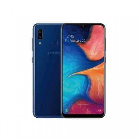 "SMARTPHONE SAMSUNG GALAXY A20e SM A202F DUAL SIM 32 GB OCTA CORE 5.8"" 13 + 5 MP 4G LTE WIFI BLUETOOTH REFURBISHED BLU"